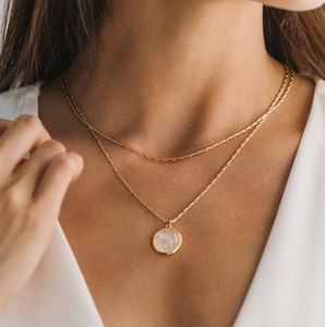 Aura Double Necklace - 30th birthday gifts