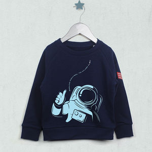 Personalised Ground Control To Major Sweatshirt