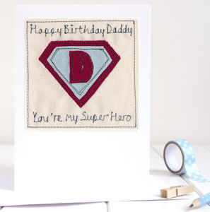 Personalised Superhero Birthday Card - birthday cards