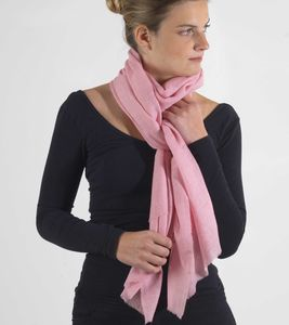 Oversized Cashmere Scarf Featherlight Luxury