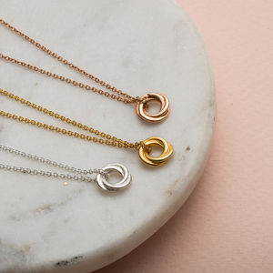 Petite Russian Ring Necklace - gifts for her