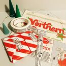 Christmas Newspaper Gift Wrap And Joke Paper Tape