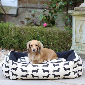 Large Dachshund Dog Bed - beds & sleeping