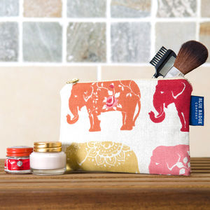 Elephant Cosmetic Make Up Purse