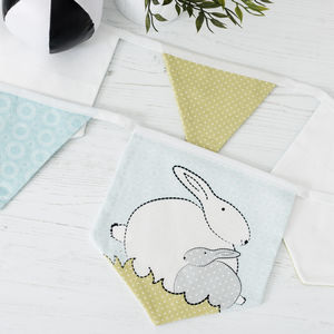 Bunny Bunting For A Bunny Themed Nursery - bunting & garlands