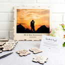 Personalised Photo Wedding Guestbook Puzzle