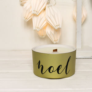 Mistletoe Scented Noel Candle