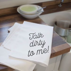 Naughty Tea Towels - kitchen accessories
