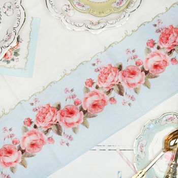 Afternoon Tea Floral Party Tablecloth