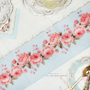 Afternoon Tea Floral Party Tablecloth - decoration