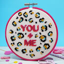 You + Me Large Cross Stitch Kit