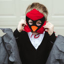 Red Cardinal Mask And Wing Cape Children's Costume