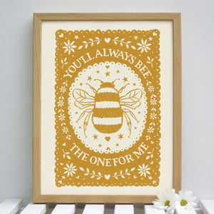 Bee Valentines Gift - drawings & illustrations
