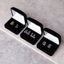 Alphabet Initial Cufflinks In Silver