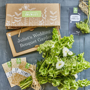 Grow Your Own Bouquet Gift - personalised gifts