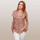 Botanical Silk Top