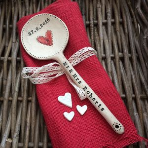 Personalised Ceramic 'Love' Spoon