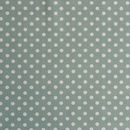 Madelaine Sage Spot Organic Cotton Fabric By The Metre