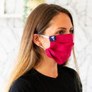 Linen Face Mask With Elastic Ear Loops