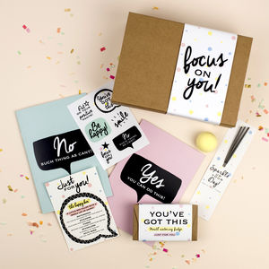 Happy Box Positive Gift 'Focus On You' Gift Box - thinking of you