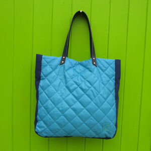 Quilted Tote - shopper bags
