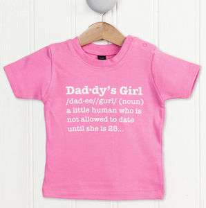 Daddy's Girl Definition T Shirt