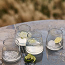 Lenny Recycled Glass Tumbler, Set Of Four