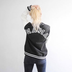Personalised Mama Varsity Jacket - gifts for new parents