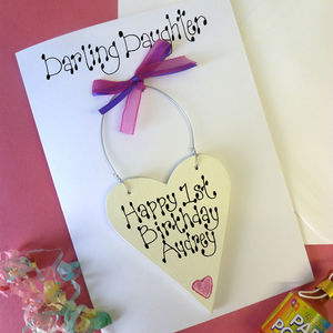 Daughter's Personalised Birthday Card - birthday cards