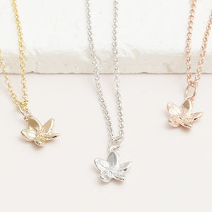 Forget Me Not Flower Necklace - for children