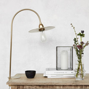 Elegant Brass Table Lamp - lighting