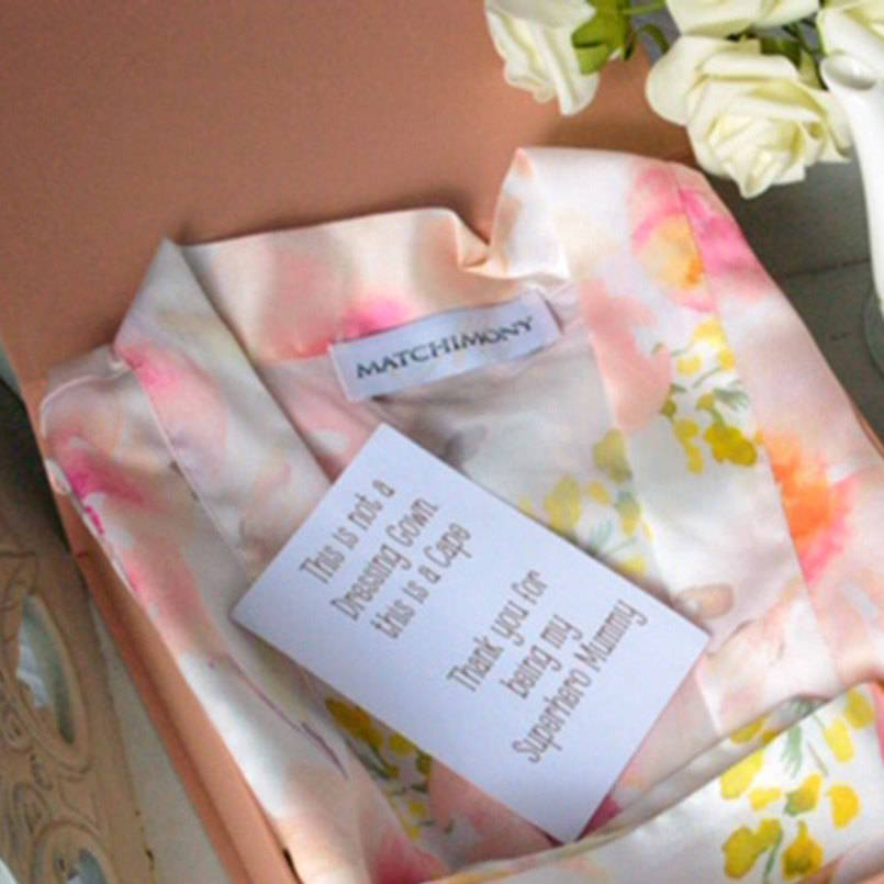 Mother's Day Dressing Gown Robe In Presentation Box