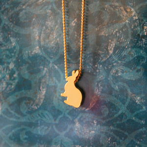 Children's Bunny Necklace