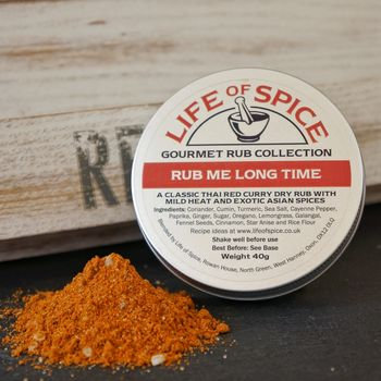 Rub Me Long Time Gourmet Spice Rub
