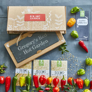 Red Hot Chilli Garden Gift - gardener