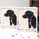 Personalised Dog Father's Day Card