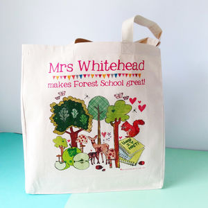 Personalised Forest School Bag