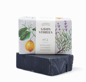 Organic Bamboo Charcoal Bar Soap - bathroom