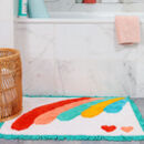 Miami Rainbow Bath Mat