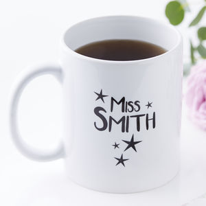 Personalised Teacher Mug - new in home