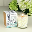 Mummy Bee Votive Candle