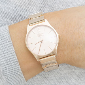 Remy Rose Gold Ladies Watch - watches