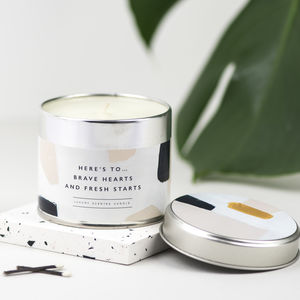 Divorce And Fresh Start Candle
