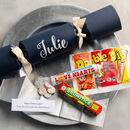 Personalised Retro Sweets Christmas Cracker