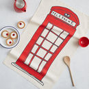 Telephone Box Tea Towel