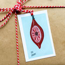 Vintage Decoration Christmas Gift Tags