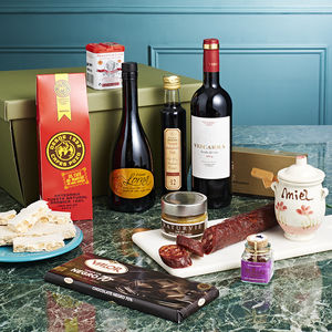 The Barcelona Spanish Hamper - gifts for foodies