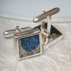 K2 Mountain Cufflinks - cufflinks
