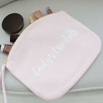 Pink Nappy Pouch