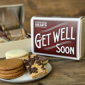 Get Well Soon Tin Of Baked Treats